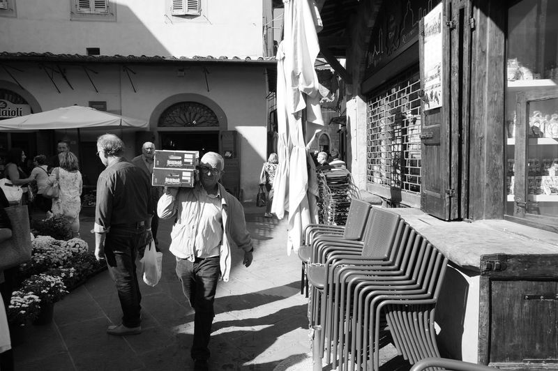 Streetphotography Streetphoto_bw Blackandwhite Adult People Tuscany Pistoia Wine