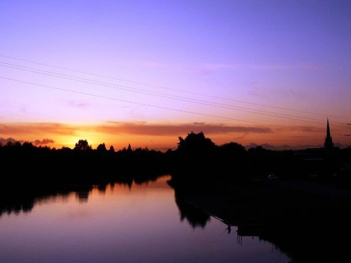 Sunset Cityscapes Skyporn Riverscape