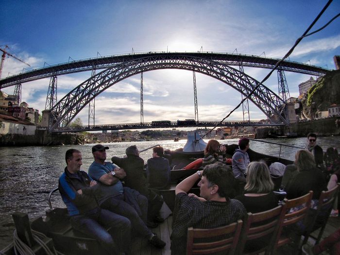 Group Of People Crowd Men Built Structure Architecture Bridge Large Group Of People Bridge - Man Made Structure Sky Real People Nature Enjoyment Leisure Activity Lifestyles