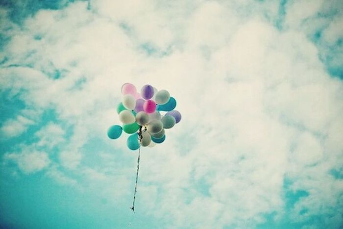 Balloons🎈 Colors Keep Calm And Always Smile Sky Love ♥
