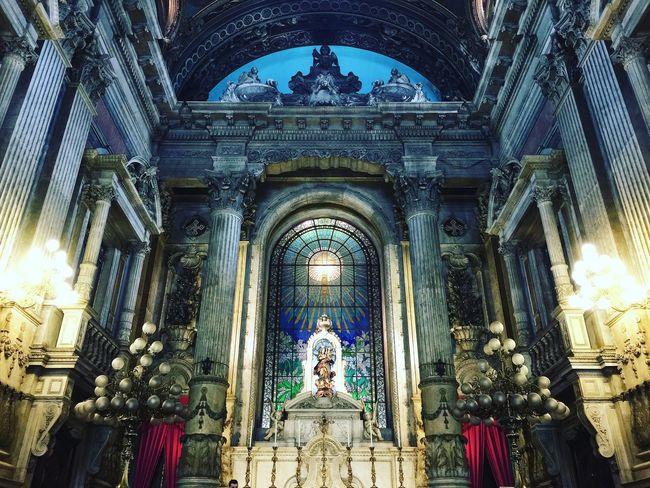 Faith 🙏 Religion Architecture Sculpture Spirituality Picoftheday Rio De Janeiro Rio De Janeiro Eyeem Fotos Collection⛵ Candelária Church The Week On EyeEm