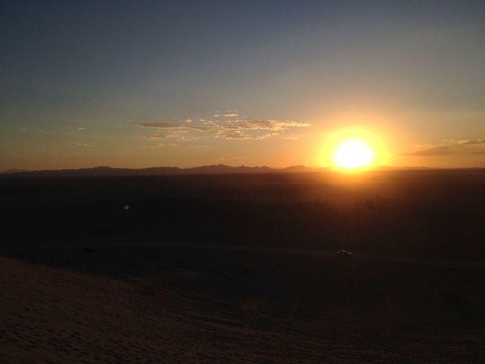 No Edit/no Filter Tadaa Community Sunset Sun Sunset Silhouettes Sunsets Horizon Horizon Over Land Clouds And Sky Desert