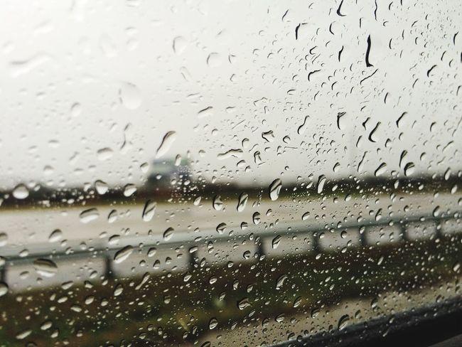 Rain Window Photography