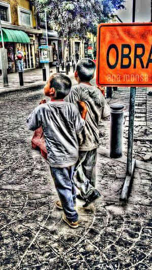 Among us has begun a beautiful story Edition Urban Life People Colors