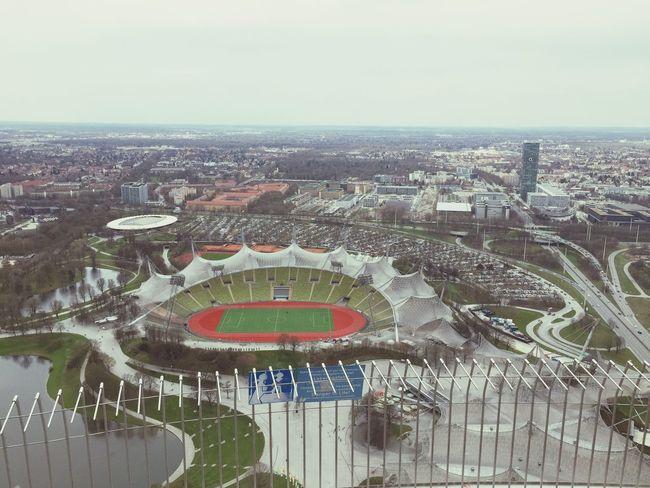 Olympiapark Olympiastadion München Munich EyeEm Munich View Enjoying The View Great Views Stadium Stadion