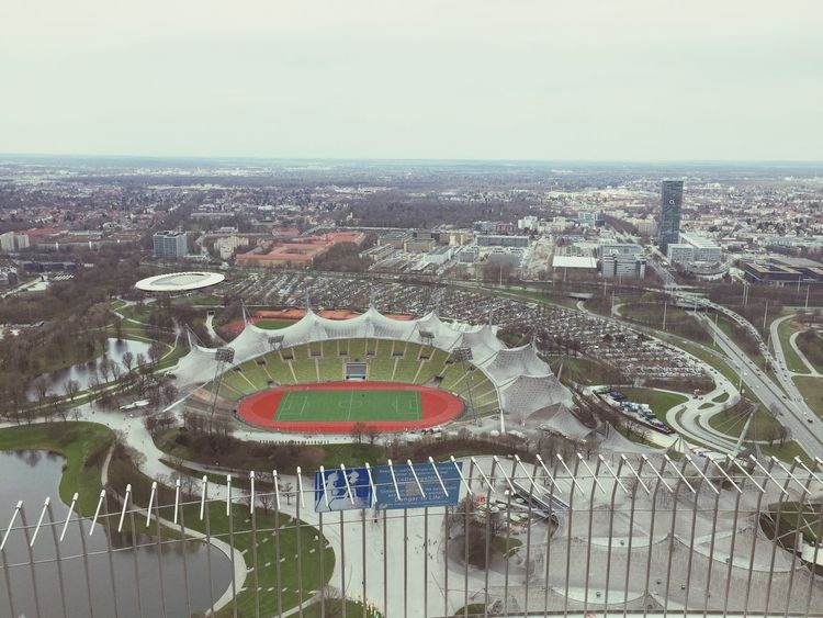 Olympiapark Olympiastadion München Munich EyeEm Munich View Enjoying The View Great Views Stadium Stadion