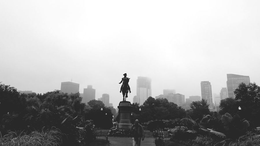 George Washington ghost army. Boston Washington Skyline Boston Common EyeEm Best Shots Black And White EyeEm Nature Lover