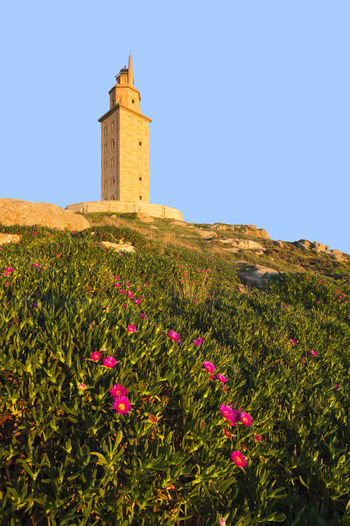 Tower of Hercules , Torre de Hercules , A Coruna , Galicia , Spain , World Heritage Site A Coruña A Coruña City Coruña Galicia Spain Galicia Galicia Calidade Galicia, Spain Hercules Tower Lighthouse SPAIN Torre De Hércules UNESCO World Heritage Site World Heritage Site World Heritage Coruña Europe Galiciameiga Lighthouse_lovers Tower Of Hercules Unesco