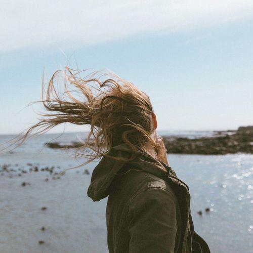 Windy portraits