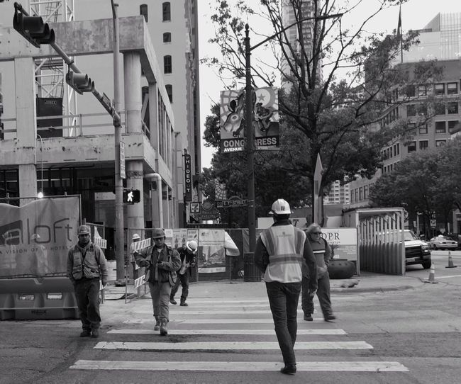 Streetphotography Construction Worker City Life