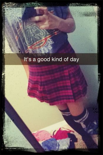 Says it all Grunge Selfie