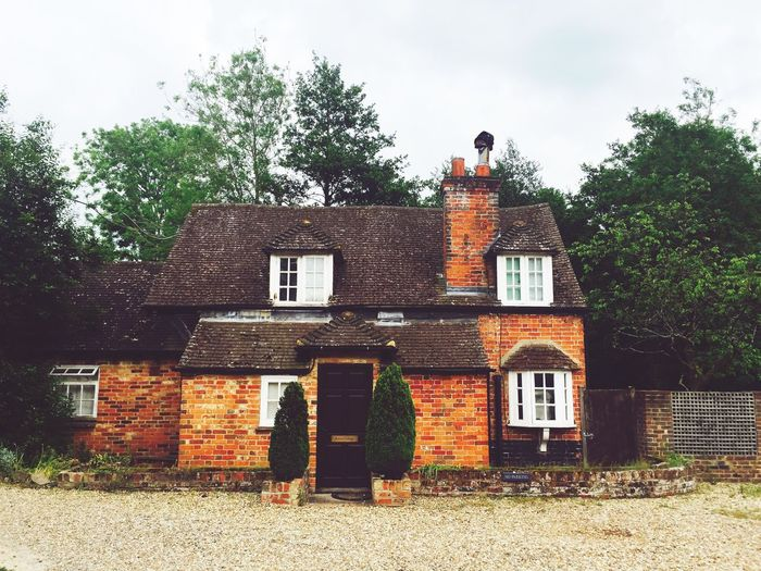 Architecture Building Exterior Built Structure Tree House Sky Day Outdoors No People England