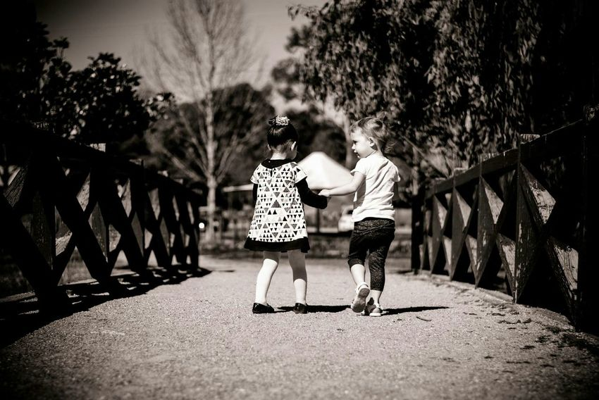 My daughter and her best friend Walking Around Enjoying The Sun Nikon Albury Wodonga Best Friends ❤ Best Friends