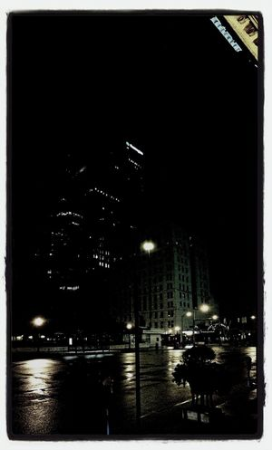 Broad and High in the dark