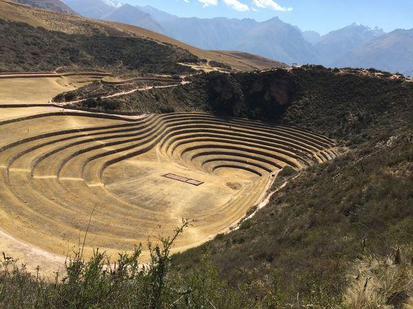 Moray - Peru Cusco Landscape Nature
