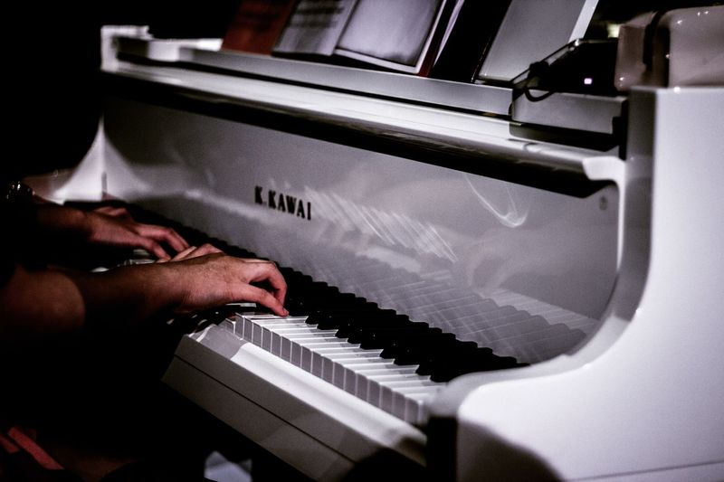 Musical Photos Musical Equipment Music Music Photography  First Eyeem Photo Bahana_gaung 650d 50mm F1.8 Canon Lightroom Stagephotography Piano Piano Key Kawaii? Fourhand