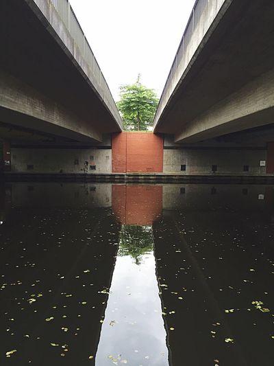 Hamburg, Alsterdorf Hamburg Alster River Lake Bridge