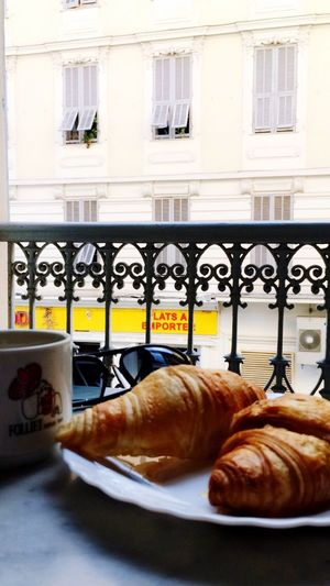 Traditional Croissant Window Food Building Exterior Architecture Food And Drink French Food Ready-to-eat Freshness Outdoors No People Day Close-up
