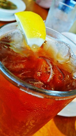 Iced Tea Ice Cold Beverages Refreshment Food And Drink Glass Cold Drink