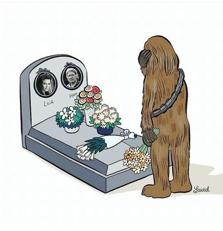 Leiaorgana RIP :( MayTheForceBeWithyou Sadness😢 Starwars