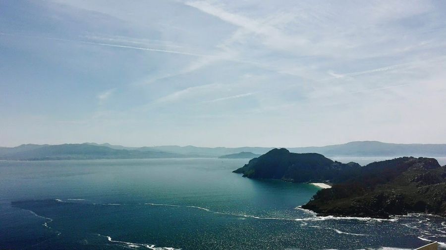Galicia Illas Cìes Sea And Sky