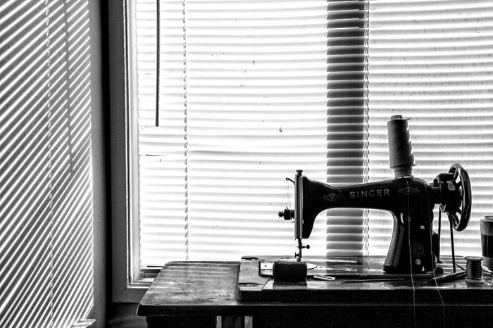 EyeEm Selects Blinds Shutter Window Day Indoors  No People Black And White Friday Machine African Sewing Machine Sewing Needle Sewing Item Thread Stitching Fashion Designer Record Player Needle Needlecraft Product Loom Radiator Weaving Gramophone Typewriter Straight Pin Needle Tailor Corrugated Corrugated Iron Spool Sewing