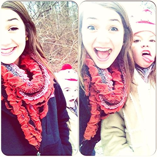 Walking In The Snow❄⛄