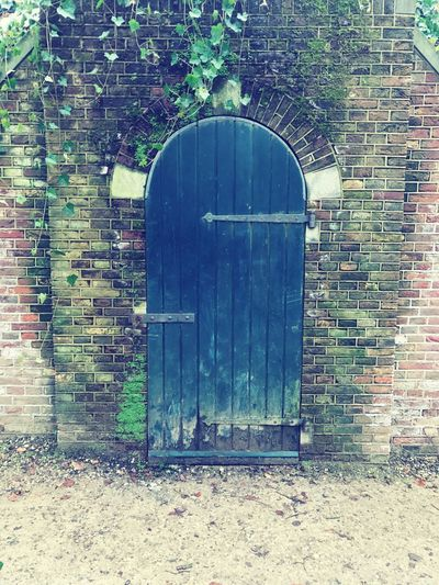 Built Structure Brick Wall Architecture Building Exterior No People Outdoors Day Secret Garden Where Does It Lead? In The Middle Of Nowhere Sonsbeekpark Sonsbeek Arnhem Netherlands ❤