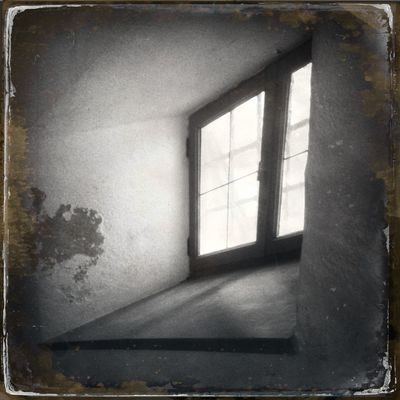 The window of an old house Hipstamatic Blackandwhite The_guido