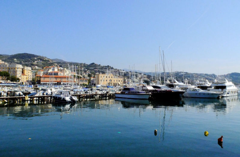 Boat Boating Harbor Harbour Italy Marina Moored Nautical Vessel Port Sailboat Sailing San Remo Transportation Water