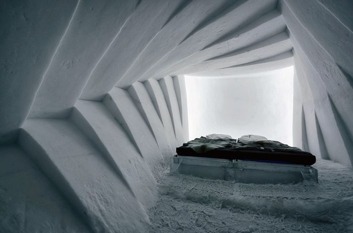 Ice Nights Sleep Ice Age Sweden EyeEm Masterclass Lapland Scandinavia Snow ❄ Frozen Icehotel Winter Wonderland Built Structure Winter Fine Art Photography Wintertime Bedroom Bedtime Peaceful Sleep Wall - Building Feature Indoors  Geometric Shapes Ice Room Ice Sculpture Snow Covered Snow House Monochrome Photography
