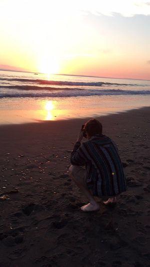 Sunset Ocean Beach View Photography