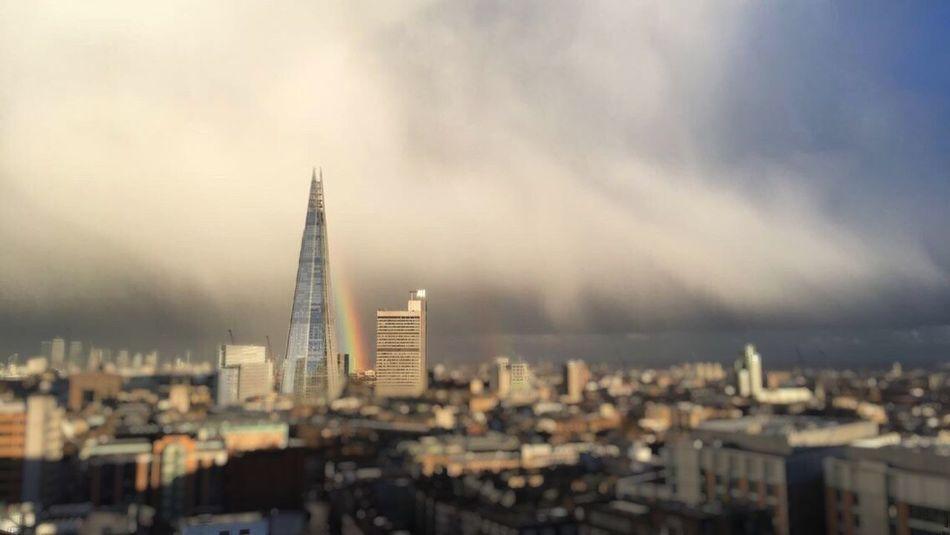 Urban Skyline The Shard London TateModern Double Rainbow EyeEmNewHere EyeEm LOST IN London