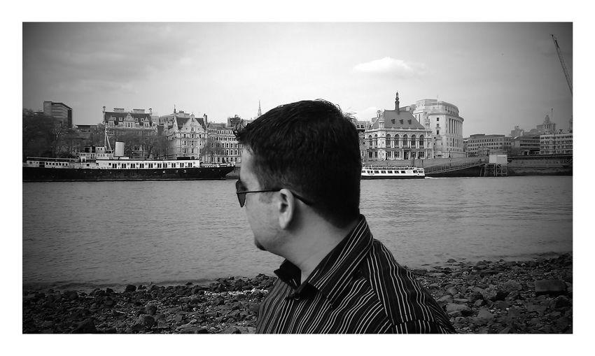 London River Thames B&W Portrait Glasses Mobile Photography Travel Photography Enjoying Life Old Days