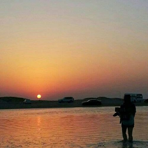 FUJIFILM FINE S3400 Sundown, Nightfall, Close Of Day, Twilight, Dusk, Evening Qatar Zeekret Beach Eyeem Philippines Eyeemcollection Nationalgeographics EyeEm Nature Lover Nature_collection