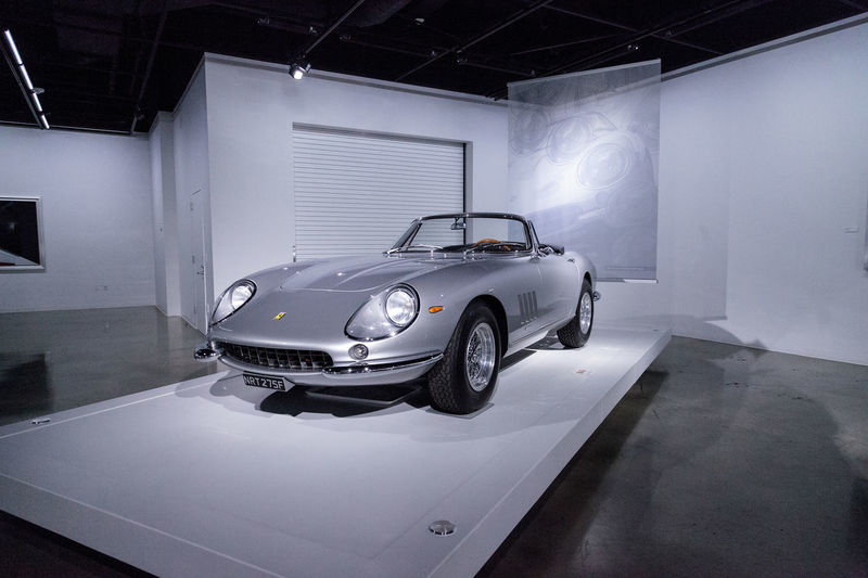 Los Angeles, CA, USA - March 4, 2017: Silver 1967 Ferrari 275 GTB Spyder at the Petersen Automotive Museum in Los Angeles, California, United States. Editorial only. 1967 275 275GTB Antique Car Automobile Car Cars Classic Car Fast Car Ferrari Gtb Indoors  Luxury No People Old Car Petersen Automotive Museum Sports Car Spyder Transportation Transportation