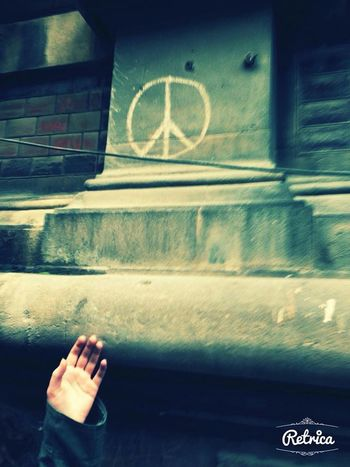 ✌Peace✌ Hippie My Hand