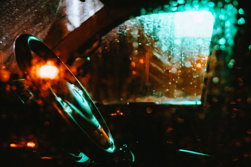 Illuminated Glass - Material Focus On Foreground Transparent Close-up No People Indoors  Night Glass Lighting Equipment Burning Glowing Flame Selective Focus Wet Drink Car Motor Vehicle Mode Of Transportation