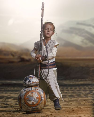 My little Rey Star Wars Child Childhood Girls People Holding Portrait Beauty One Person Nerd Geek Cosplayer Cosplay Sureal Inspired Photooftheday Shotoftheday Loveforever