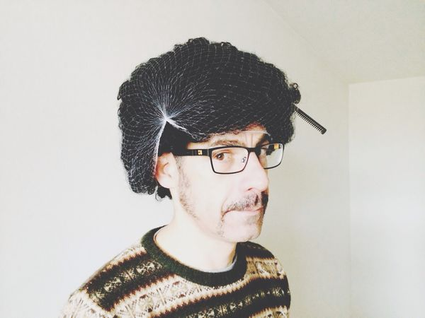My hair is growing quicker than my tash Movember Today's Hot Look