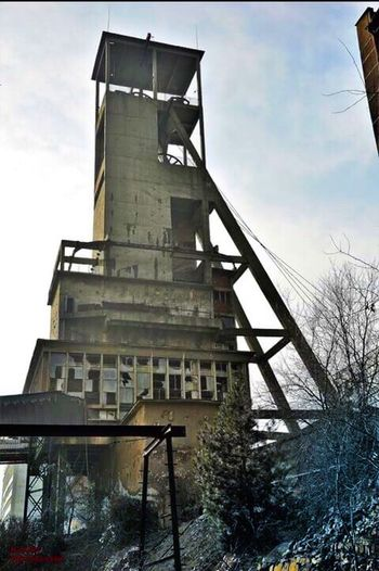 Abandoned Building Tower Broken Windows A Bit  Creepy Randomly Taken