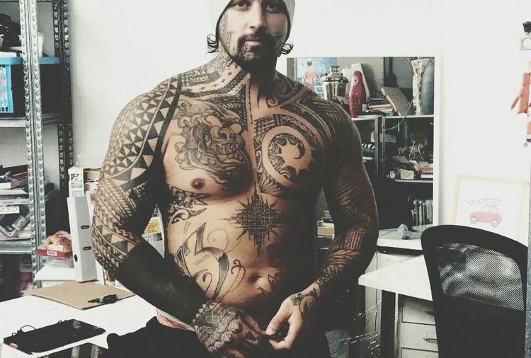 Polynesian Tattoo Tattoomodel Tattoomagazine Tattoo