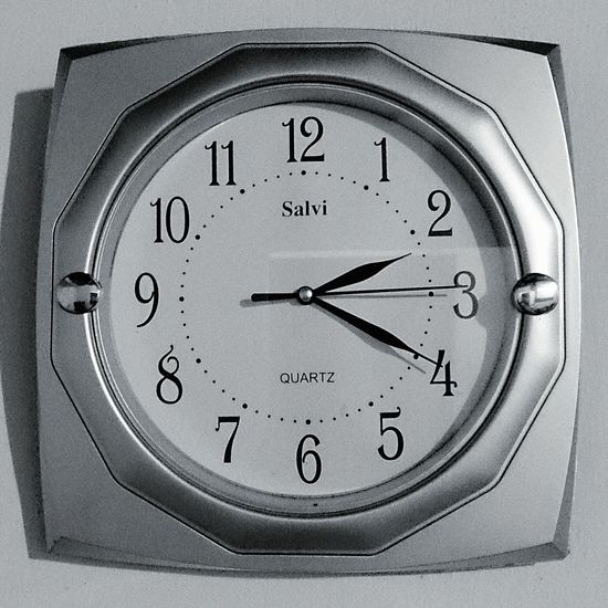 Right Now Rightnow Watch The Clock Hours Numbers Silver  Black & White Black And White Taking Photos Check This Out