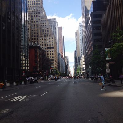 New York New York City NYC Street Walking Around Adventure Buildings People