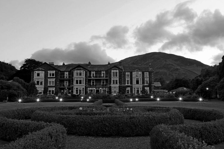 Lake District Ullswater Architecture Building Building Exterior Built Structure Car Cloud - Sky Dusk House Illuminated Inn On The Lake Ullswater Mode Of Transportation Motor Vehicle Mountain Nature Night No People Outdoors Plant Residential District Sky Transportation