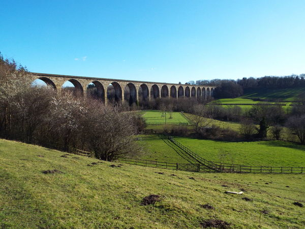Cefn Viaduct Cefn Viaduct Viaduct Cefn Mawr Wales United Kingdom Arches Trees River Dee  The Architect - 2016 EyeEm Awards