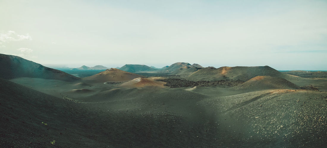 Canary Islands Lanzarote Panorama SPAIN Travel Volcanoes Geological Formation Island Landscape Outdoors Volcanic  Volcano Stay Out