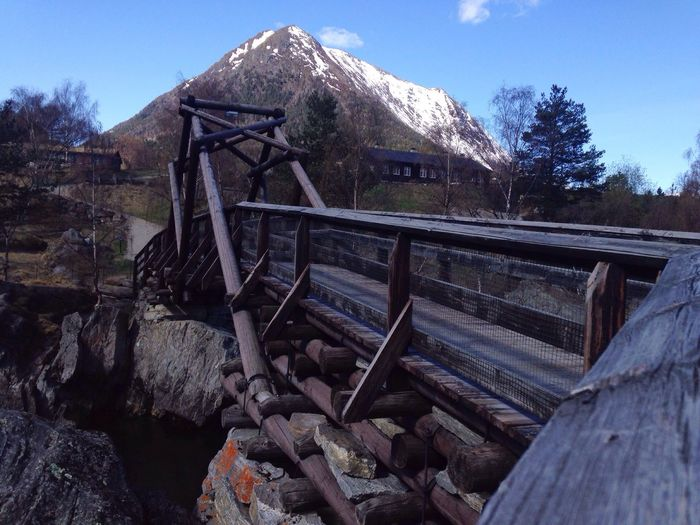 Same bridge, different angle Mountain No People Outdoors