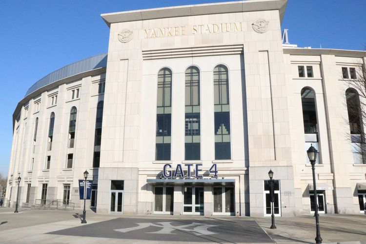 NY Yankees EyeEmNewHere New York Travel Destinations Destination America Streetphotography Stories From The City No People Landscape Stadium Yankees Baseball Sport
