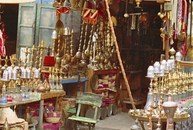 Shisha Pipe Store Arts And Crafts Bazaar Brass Cairo Composition Culture Egypt Full Frame Mediterranean  Outdoor Photography Pipes Retail  Shisha Shop Side By Side Smoking Artefacts Smoking Hookah Stall Statue Store Streetside Sunlight Tourism Tourist Attraction  Traditional